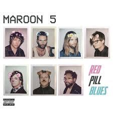 RED PILL BLUES - MAROON 5 - CD