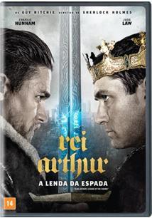 REI ARTHUR: A LENDA DA ESPADA - DVD