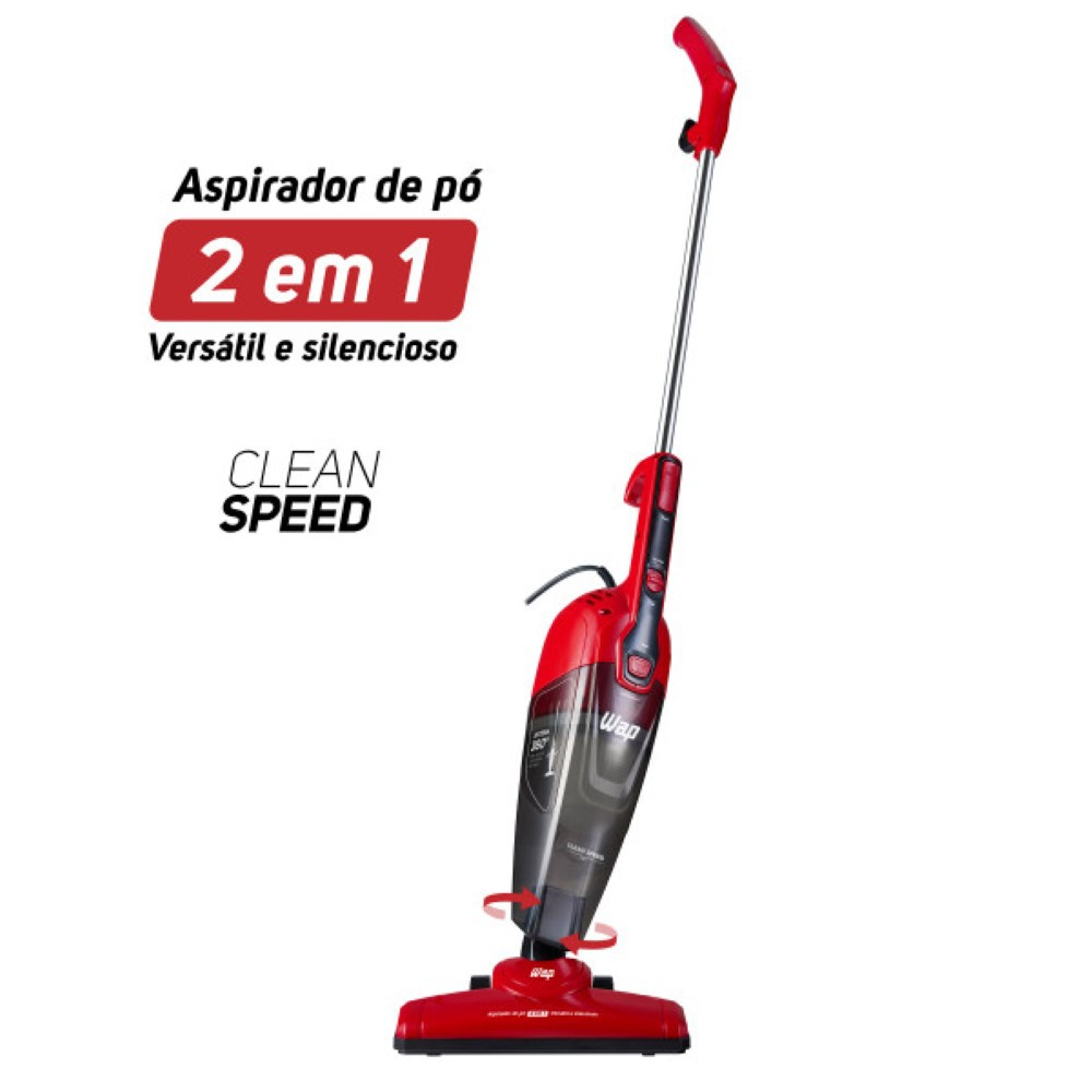 Aspirador De Pó Vertical Clean Speed Wap