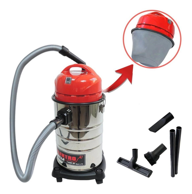 Aspirador Pó E Água Inox Schulz Elektro 20 Litros