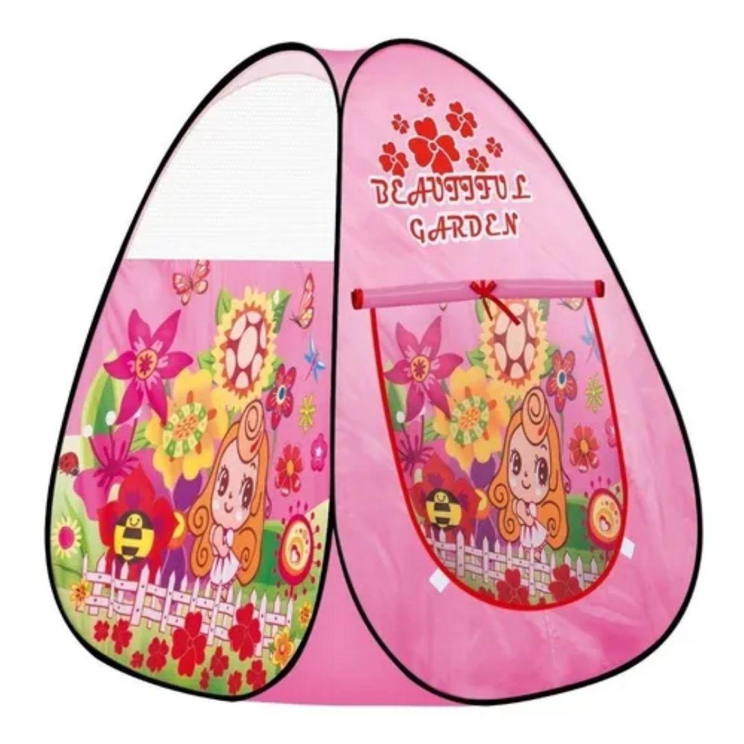 Barraca Infantil Toca Tenda Beautiful Garden Menina
