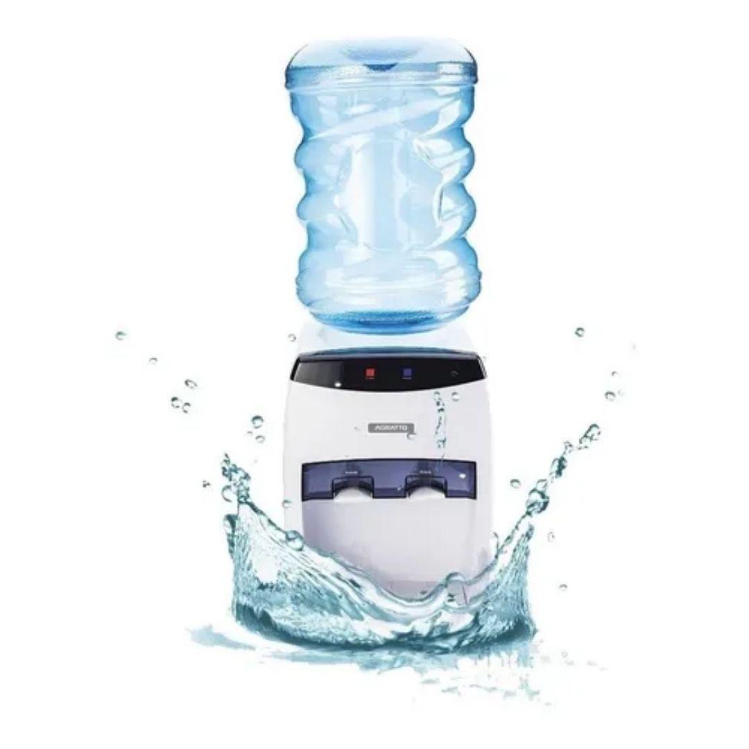 Bebedouro De Mesa Água Natural E Gelada Bivolt Agratto