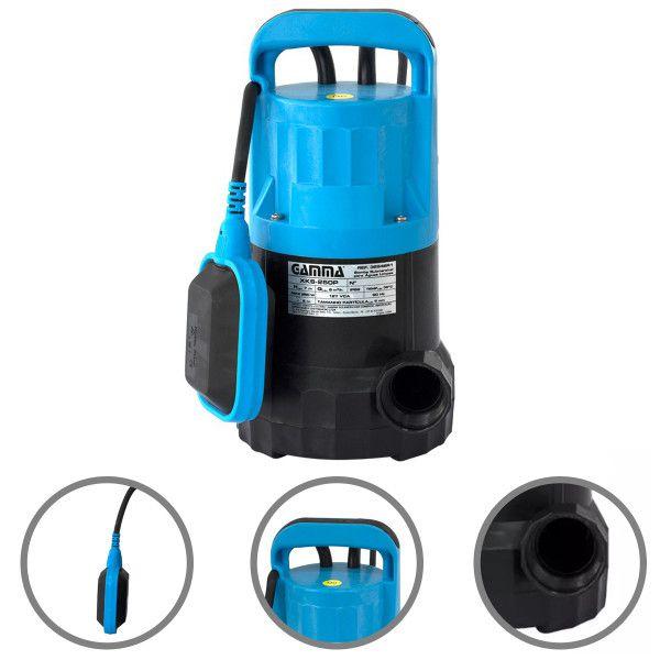 Bomba Submersivel Para Aguas Limpas Gamma Xks - 750w