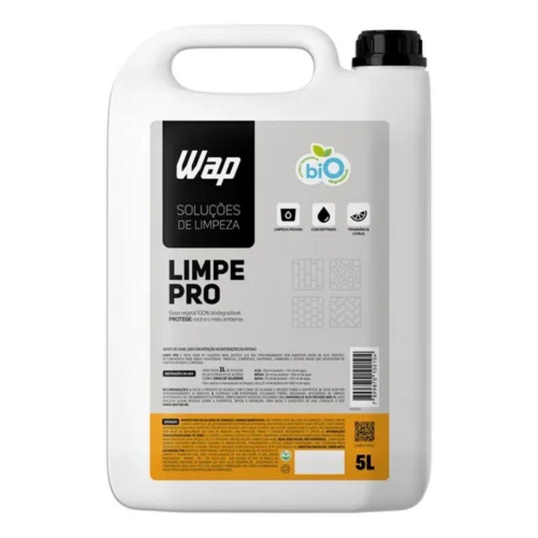 Detergente Concentrado Wap Para Limpeza Pesada De Pisos 5l