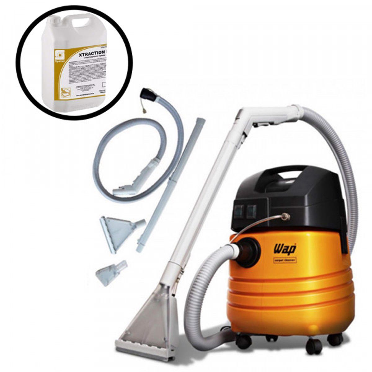 EXTRATORA WAP CARPET CLEANER COM DETERGENTE XTRACTION 5 LITROS