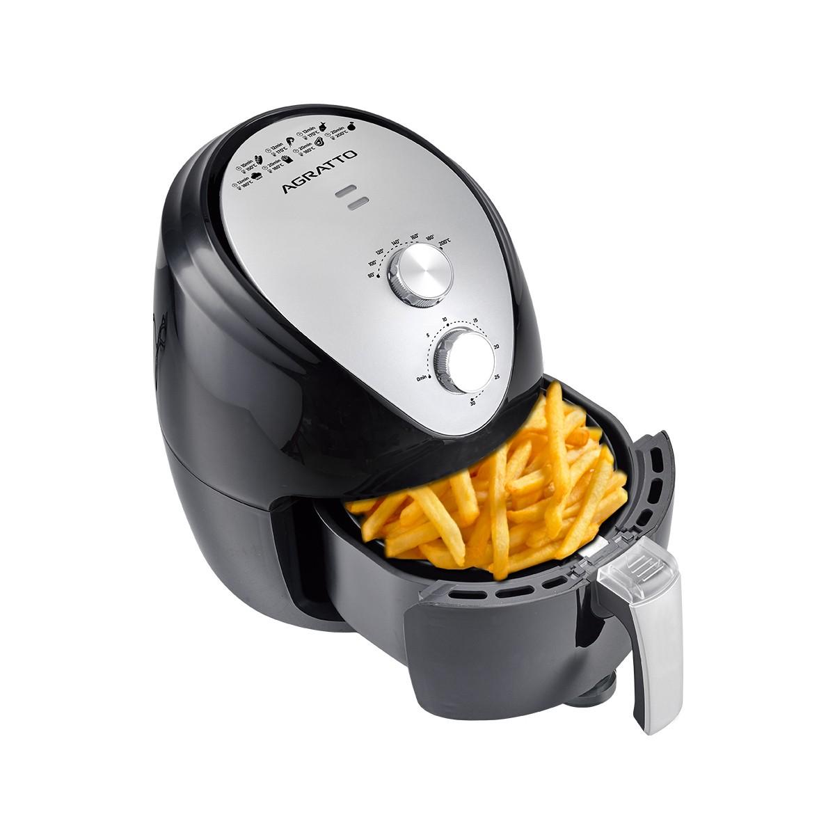 Fritadeira Elétrica Sem Óleo Agratto Air Fryer 2.5l