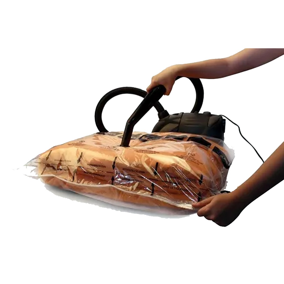 Kit 2 Sacos Para Embalagem A Vácuo Médio 56,5 X 44,5cm
