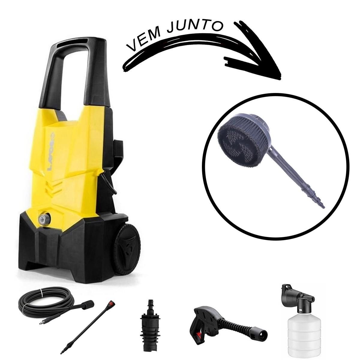 Lavadora De Alta Pressão Lavor One Plus 130 Kit Auto