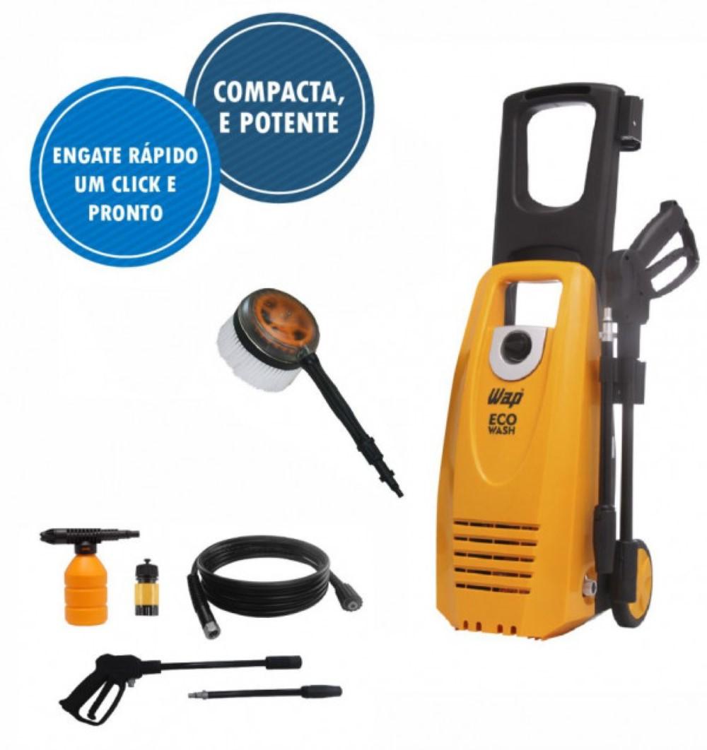 Lavadora De Alta Pressão Wap Eco Wash Acompanha Kit Auto