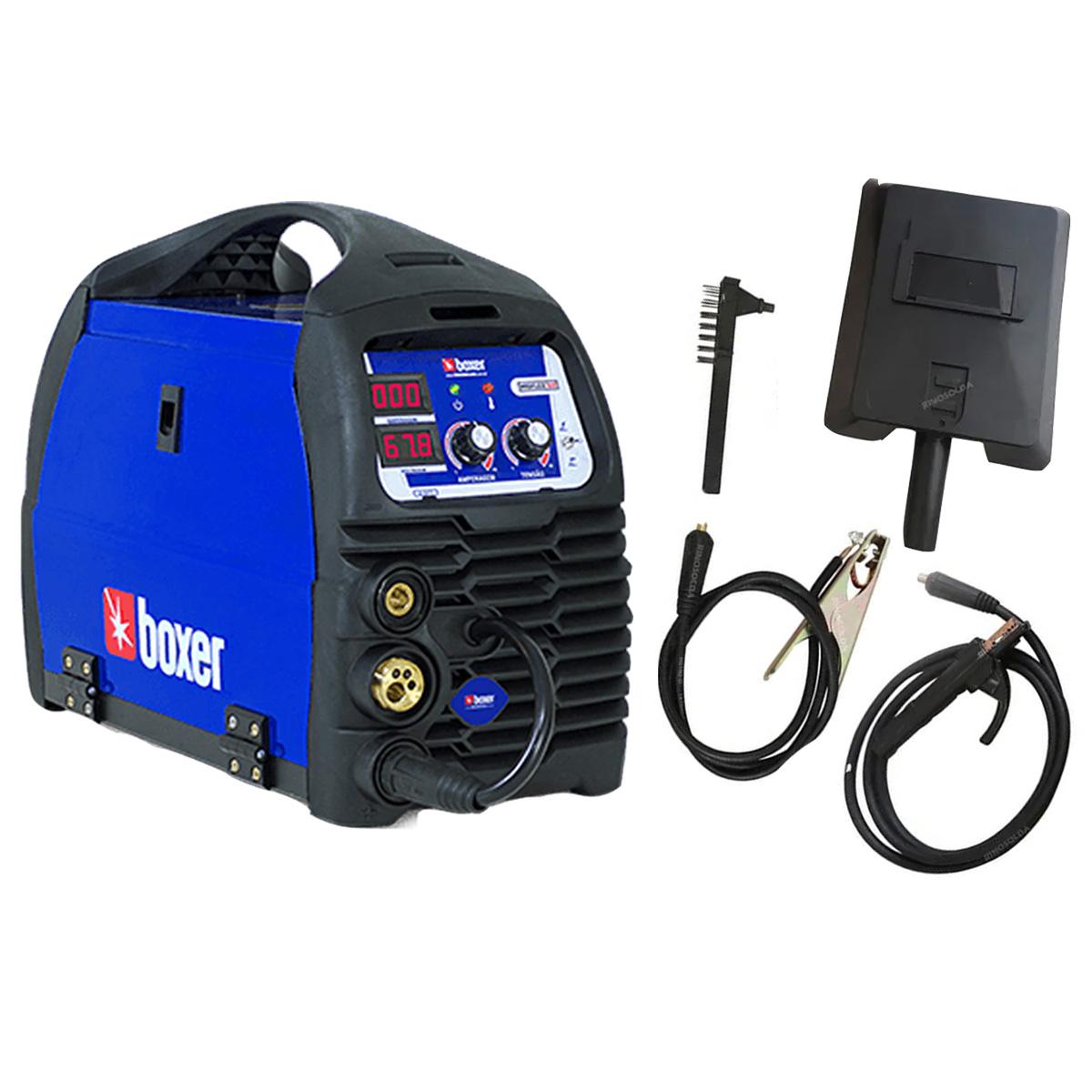Maquina Inversora D Solda Mig Tig Mag Migflex 160a Biv Boxer
