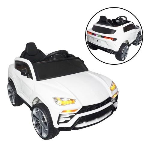 Mini Carro Elétrico Lamborghini Urus Infantil 12v Com Controle Branco