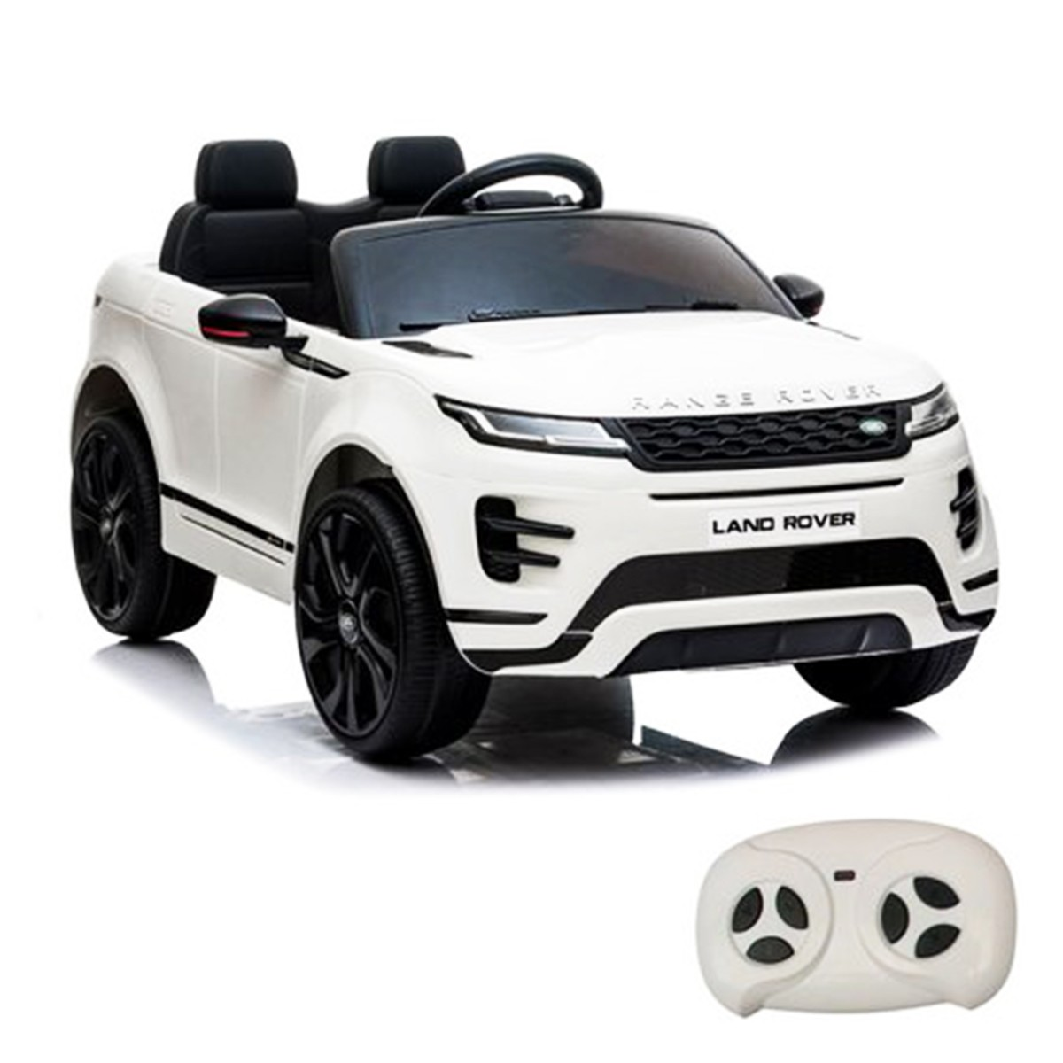 Mini Carro Eletrico Licenciado Land Rover Evoque Branco