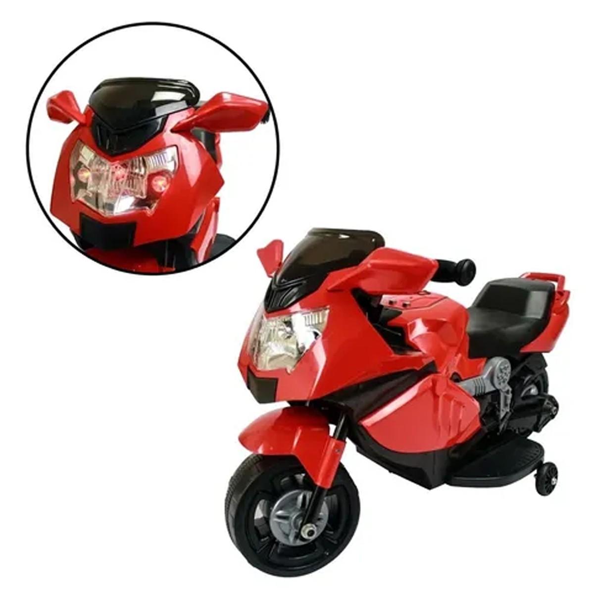 Mini Moto Elétrica Infantil Vermelha Importway