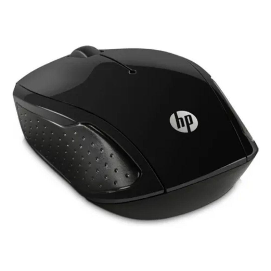 Mouse Sem Fio Wireless Hp 1000 Dpi X200 Oman Preto