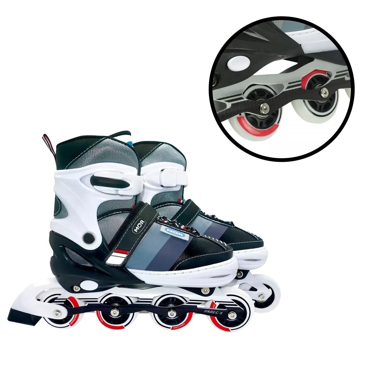 Roller Semi-pro Cinza Mor