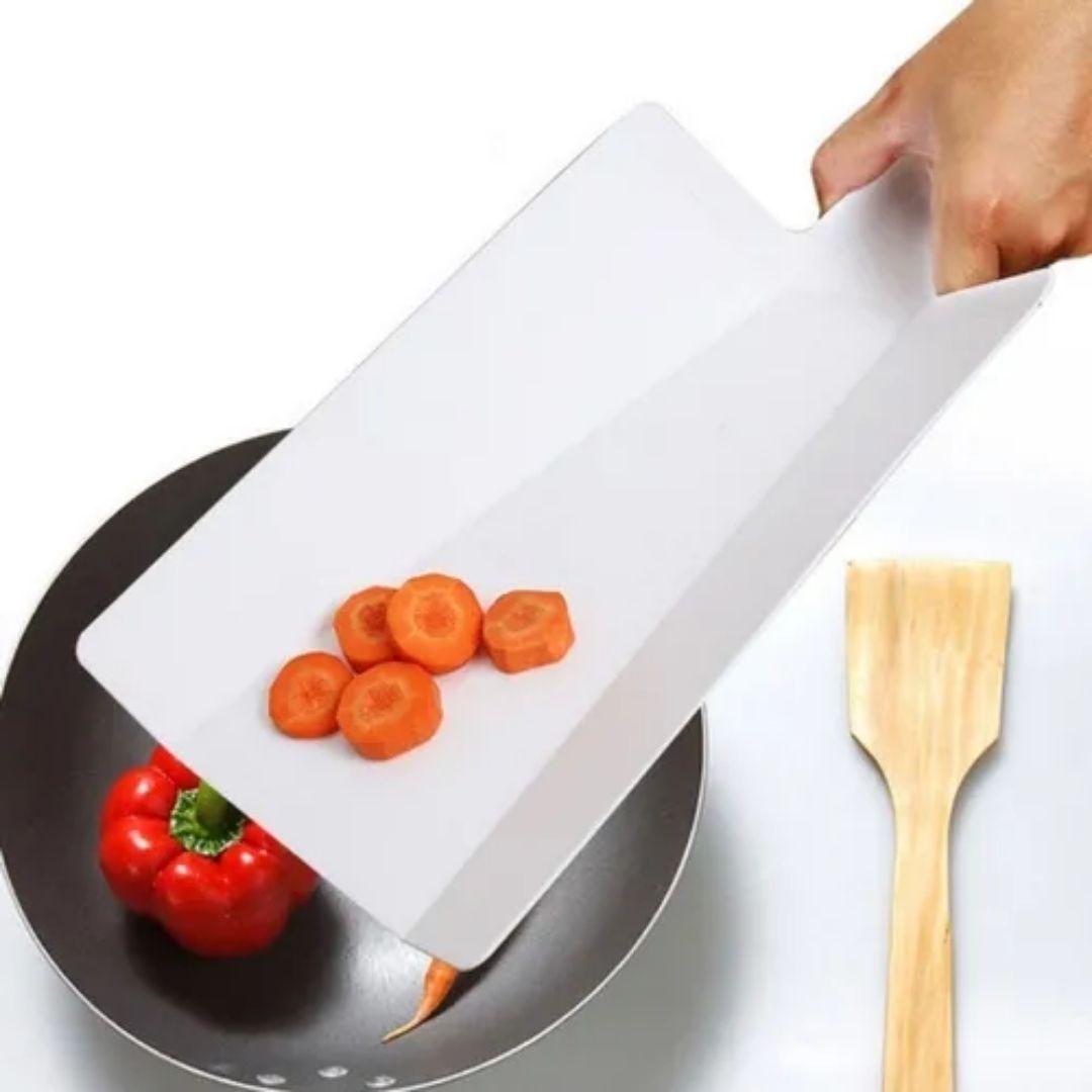 Tábuas Gourmet Dobrável Para Cozinha Corte Alimentos Prático