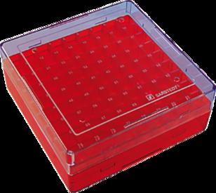 Criobox 9x9cm para 81 criotubos em policarbonato 5/PCT 93.873.281 Sarstedt