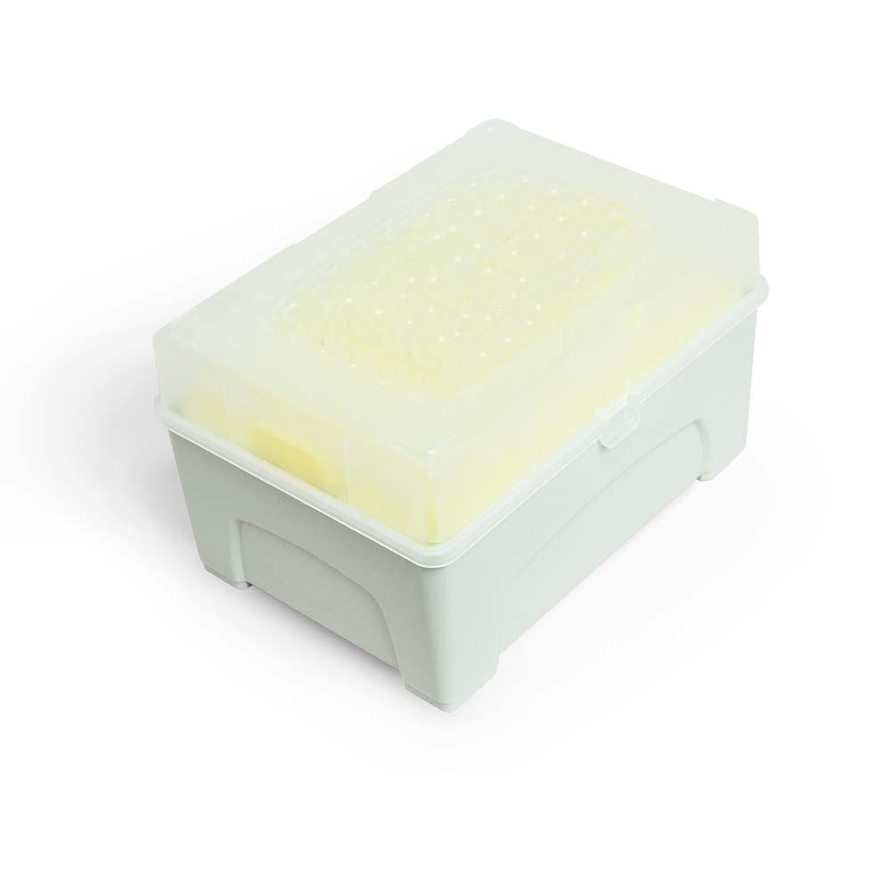 Ponteira com filtro 20-200ul em rack, estéril, K62-200 marca Olen