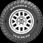 Pneu Aro 16 265/75R16 LT 123/120S FR GRABBER ATX RLW