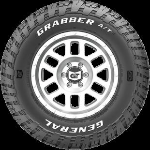 Pneu Aro 17 285/70R17 121/118S LT Grabber ATX RWL