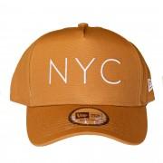 Boné New Era NYC Marrom