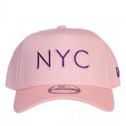 Boné New Era NYC Rosa