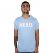 Camiseta Aéropostale Box Azul