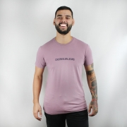 Camiseta Calvin Klein Jeans Lilás