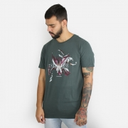 Camiseta Calvin Klein Jeans Still Life Verde