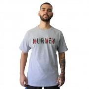 Camiseta Hurley Flower Silk Cinza