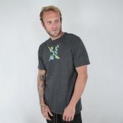 Camiseta Hurley Icon Smoke Grafite
