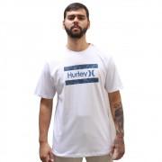 Camiseta Hurley Logo Flower White