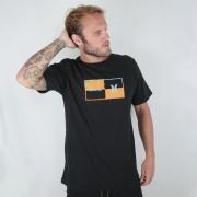Camiseta Hurley Silk Geometric Preta