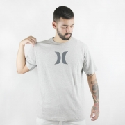 Camiseta Hurley Silk Icon Cinza