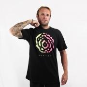 Camiseta Hurley Silk Tie Dye Preta