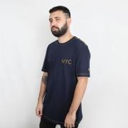 Camiseta New Era Branded NYC Marinho