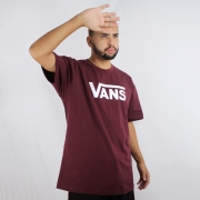 Camiseta Vans Classic Vinho