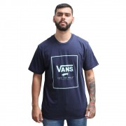 Camiseta Vans Off The Wall Marinho