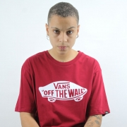 Camiseta Vans Off The Wall Rhumba Red