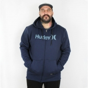 Moletom Hurley Aberto Plus Size O&O Solid