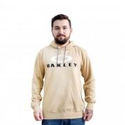 Moletom Oakley Canguru Amêndoa