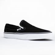Tênis Vans Slip-On Black-White