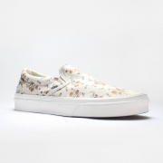 Tênis Vans Slip On Floral Marshmallow