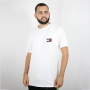 Camiseta Tommy Jeans Badge Tee Branca