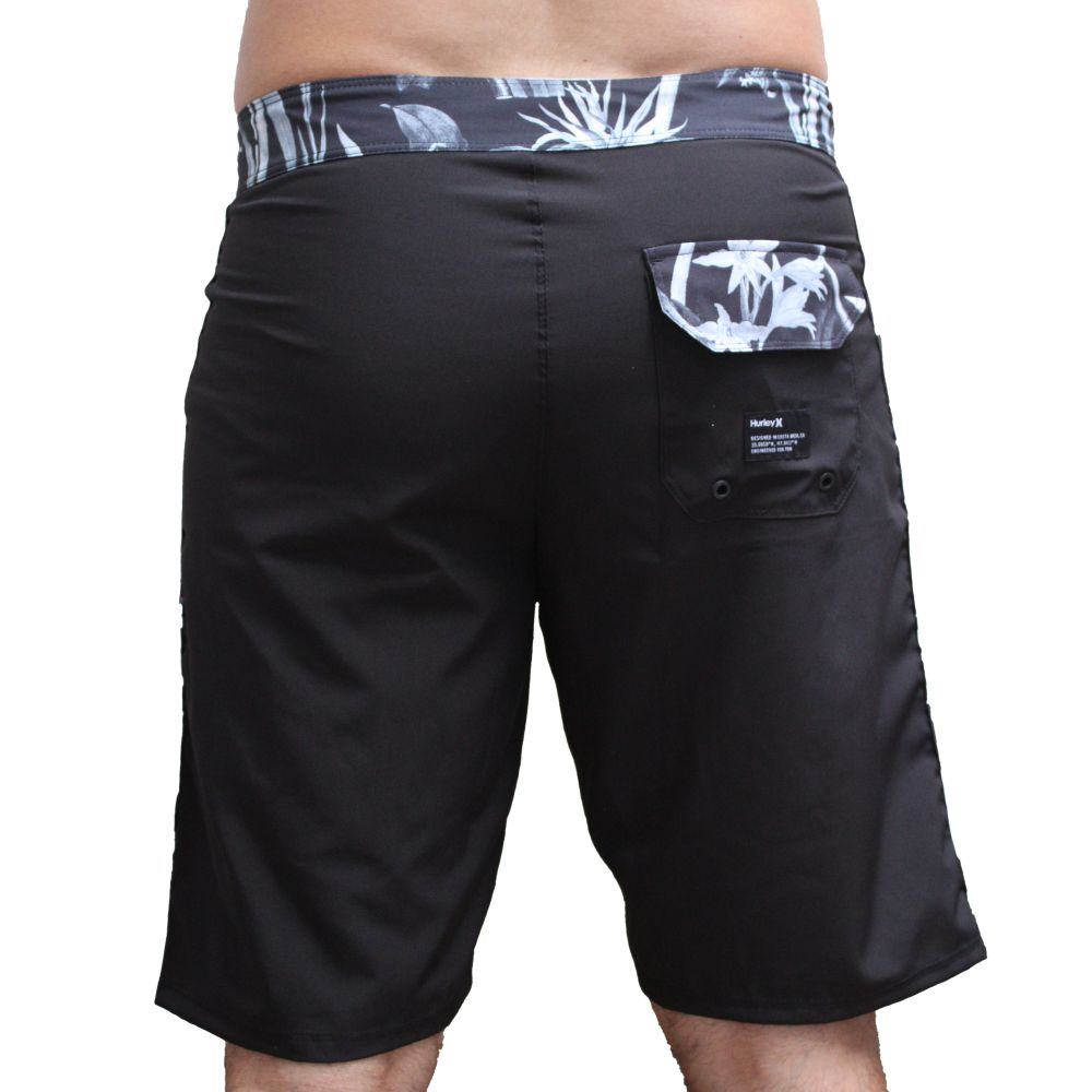 Bermuda Hurley Beachside Black