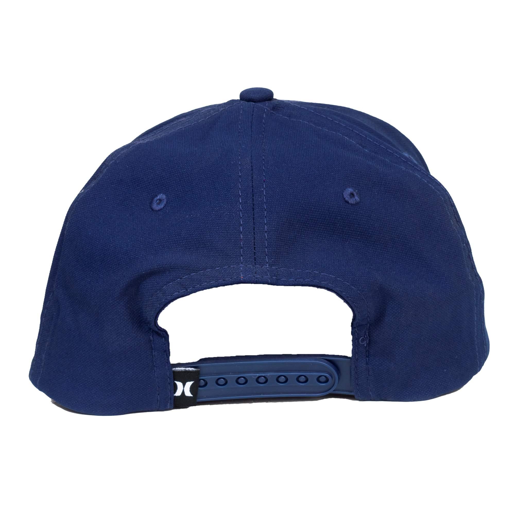 Boné Hurley Logo Hi Azul
