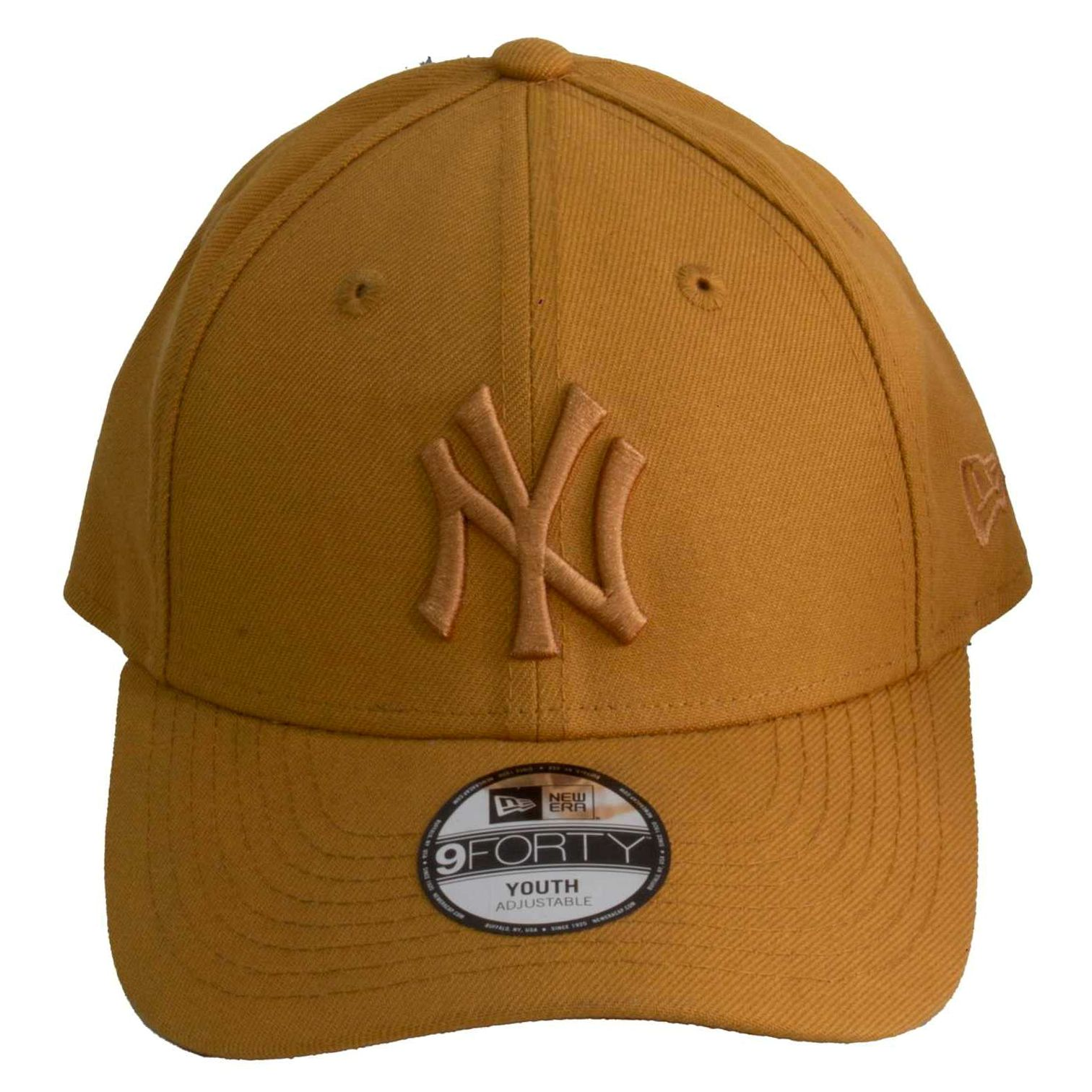 Boné Juvenil New Era Yankees Caramelo