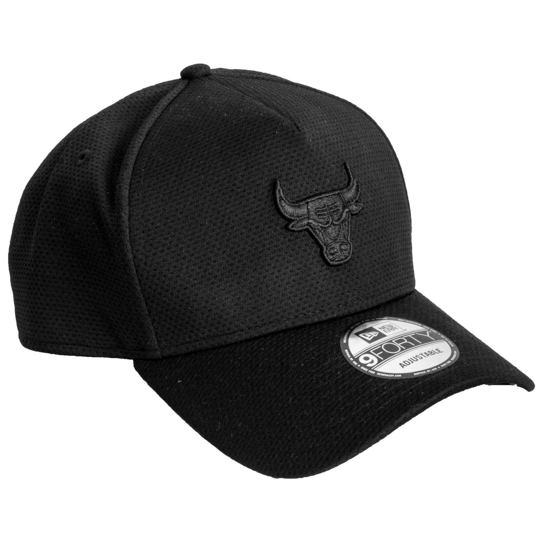 Boné New Era Chicago Bulls All Black