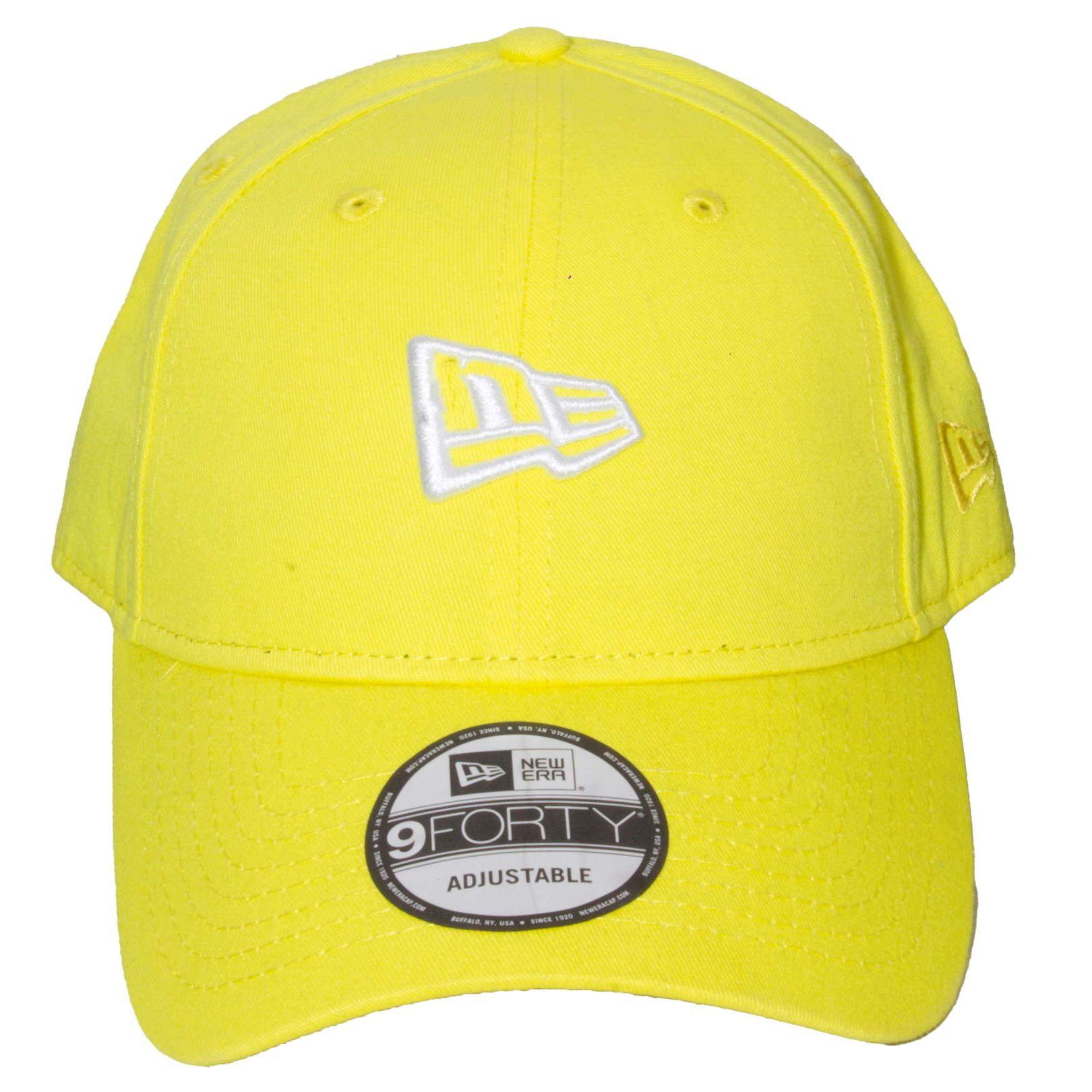 Boné New Era NE Amarelo