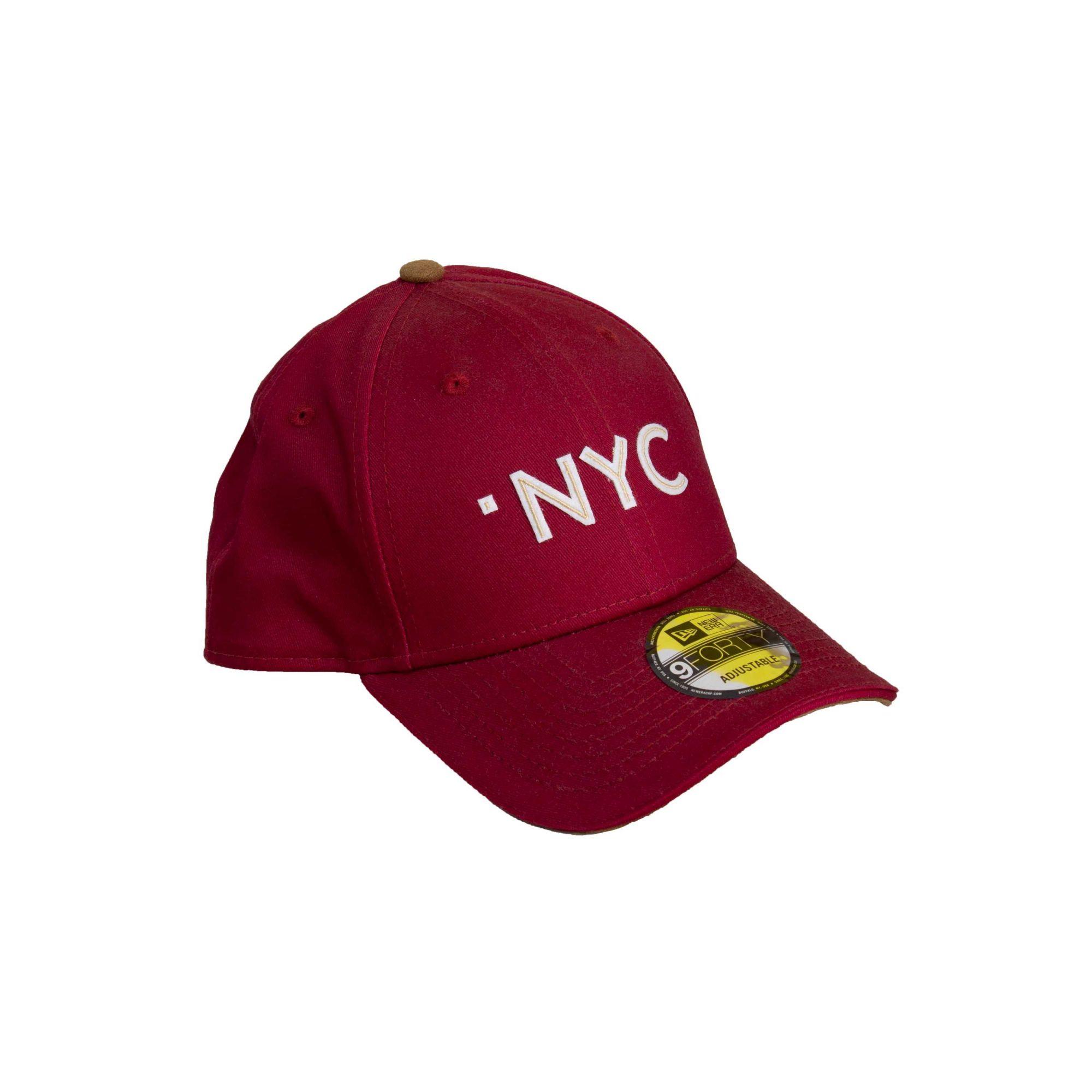 Boné New Era NYC Bordo